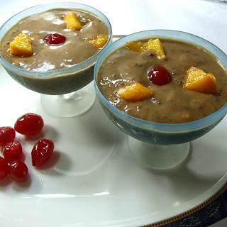Mango Choco-Pie Instant Pudding