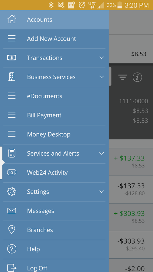 Bellwether - BCCU Mobile24- screenshot