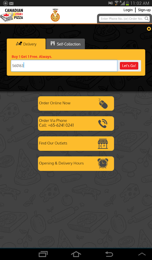 Canadian 2 for 1 Pizza SG- screenshot
