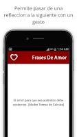 Screenshot of Frases de amor Para Facebook