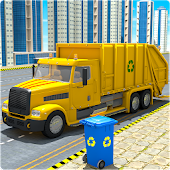 Garbage Truck Simulator City Cleaner
