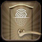 Pattern Door Lock Screen - Fingerprint Support