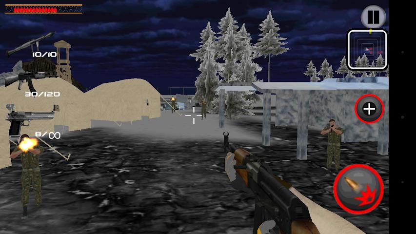 android Army Commando Shooter Sniper X Screenshot 3
