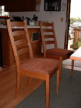 Photo: Dining Room Chairs - Cherry