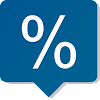 Percent & discount calculator