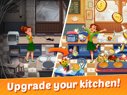 Delicious World - Romantic Cooking Game Screenshot