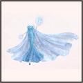 輝くドレス★雪の女王・エルサ