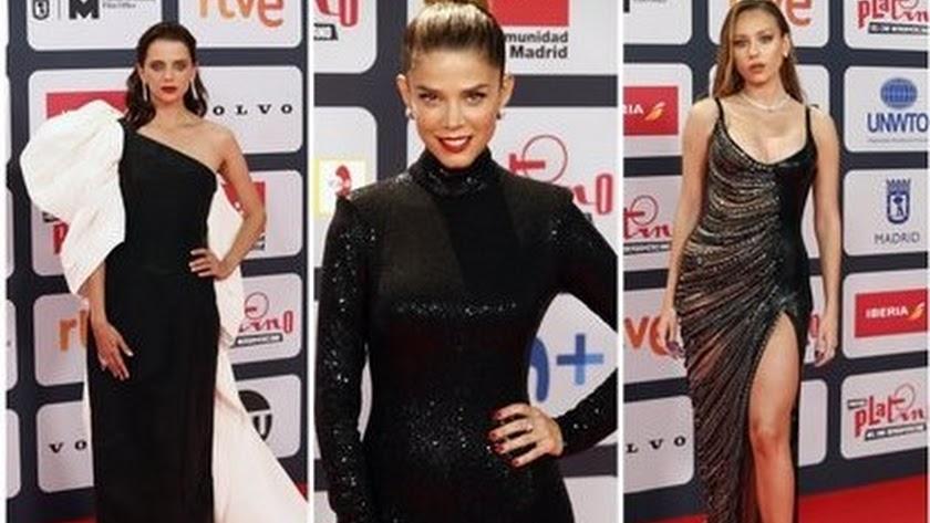 Algunas de las invitadas mejor vestida de Los Premios Platino.