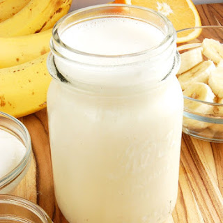 Beautifully Simple Banana Smoothie