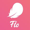 Flo Period & Ovulation tracker. My Cycle Calendar icon