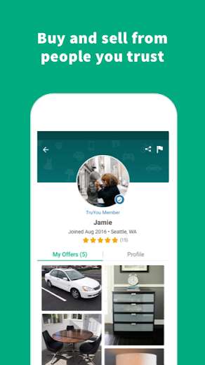 Screenshot 3 for OfferUp's Android app'