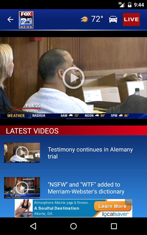 FOX25 News - screenshot