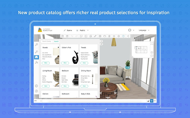 Take the guesswork out of home remodeling projects  Autodesk  Homestyler  is free and it is easy to get started. Autodesk Homestyler   Chrome Web Store