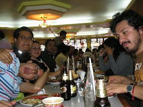 Photo: dia 01.10: no restaurante chines com o quati