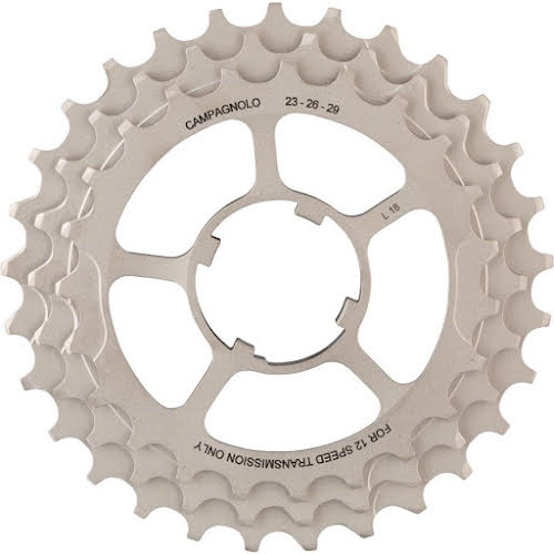 Campagnolo 12-Speed 23, 26, 29 Sprocket Carrier Assembly for 11-29 Cassettes