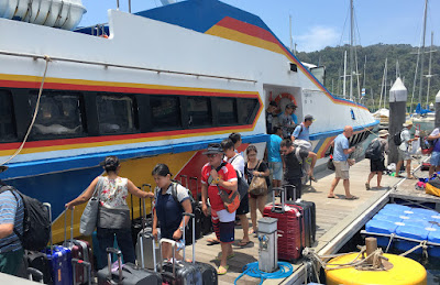 Travel from Langkawi to Koh Lipe by ferry, shared minivan and speed boat