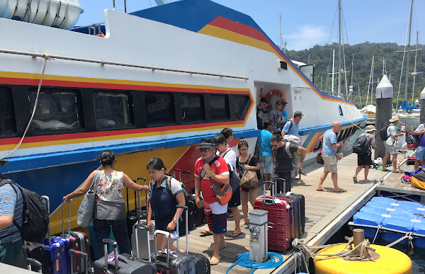 Travel from Koh Lipe to Langkawi by Speed Boat, Minivan and Ferry