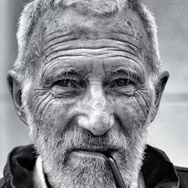 by Deependro Karki - Uncategorized All Uncategorized ( blackandwhite, awesome, portrait )