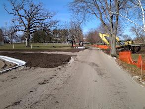 Photo: Restoration along path 11-19-2013