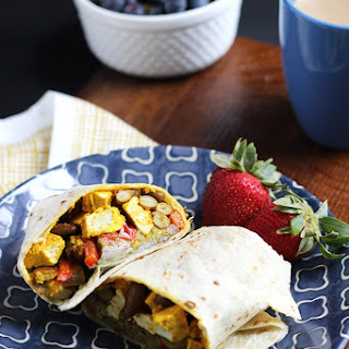 Vegan Breakfast Burrito.