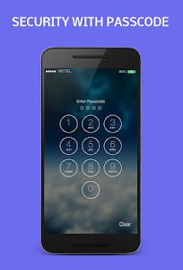 Lock screen - Iphone style screenshot 1