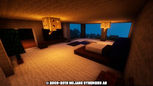 Modern house for mcpe 2.1 screenshots 2