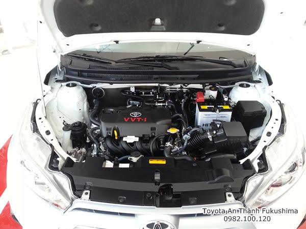 Giảm Giá Xe Ôtô Toyota Yaris 2016 1.3 G Nhập Khẩu 4