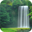 Waterfalls. Nature wallpapers icon