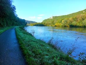 Photo: La vélovoie à 15km de Besançon, vers Montferrand-le-Château