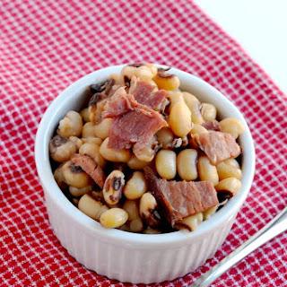 Instant Pot Black-eyed peas and Ham.