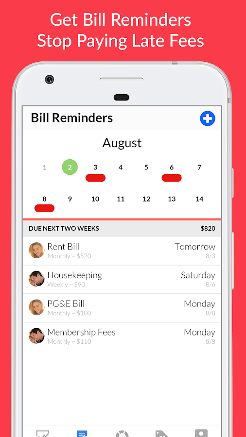 Honeydue: Budget, Bills & Money for Couples- screenshot