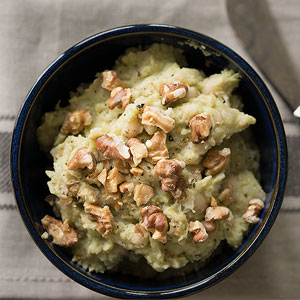 Garlic Avocado White Bean Dip