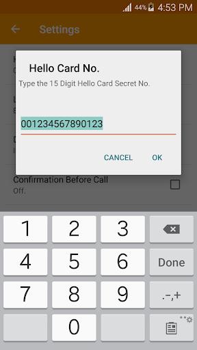 Hello Card Dialer screenshots 2