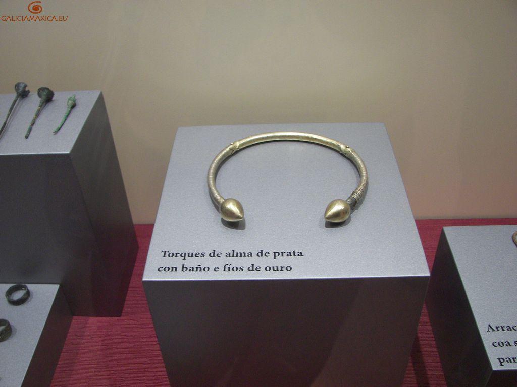 Interior del museo del Castro de Viladonga