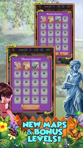 Mahjong Gardens: Butterfly World android2mod screenshots 7