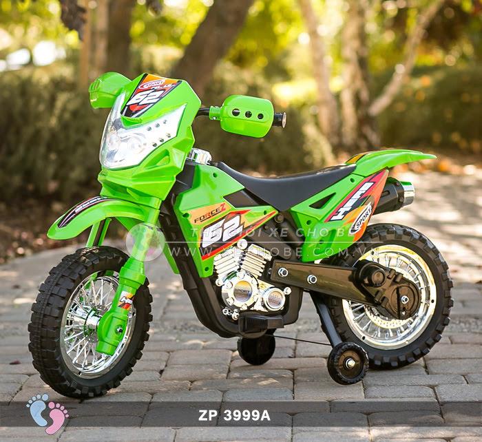 Xe mô tô điện 2 bánh địa hình cho bé ZP3999A 2