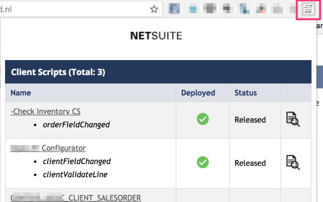 NetSuite Scripted Records