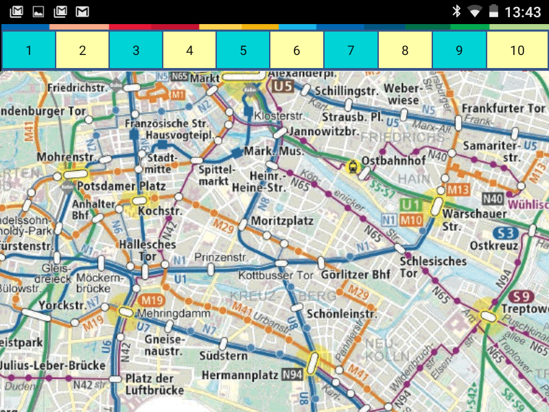 Berlin Transport Maps- screenshot