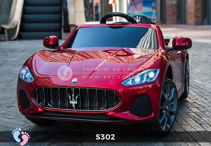Ô tô cho trẻ em cao cấp Maserati S-302 4