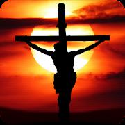 Jesus on the cross Live Wallpaper
