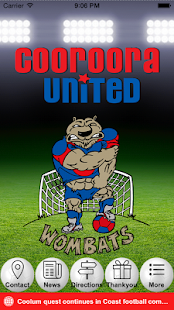 Cooroora United FC- screenshot thumbnail