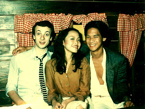Photo: First date or so with Sally..and Bob came too!!  Bar City @ New World Centre, Kowloon 1980.