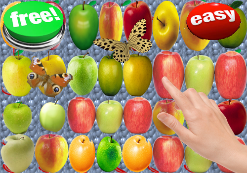 Fruit Apple candy