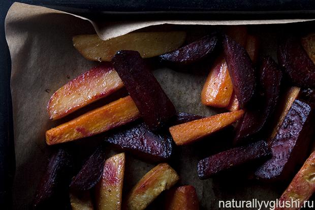 запеченные корнеплоды рецепт | Блог Naturally в глуши