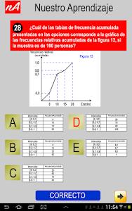 PSU Matemática Prueba Ensayo screenshot 4