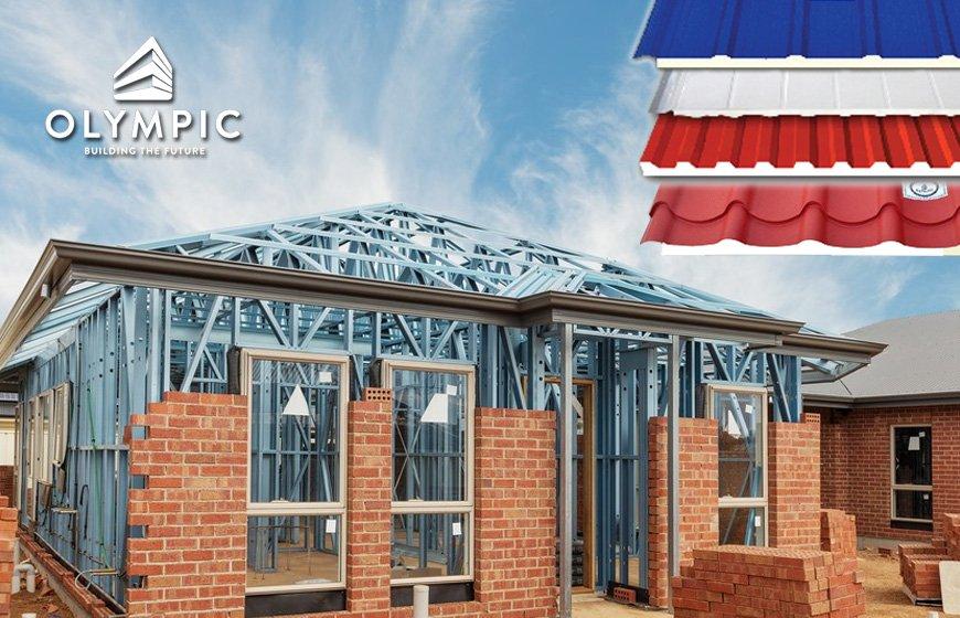 Các bước thi công lắp đặt mái cho nhà xưởng