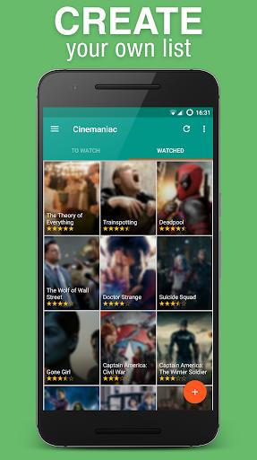 Cinemaniac - Movies To Watch 3.0.8 screenshots 2