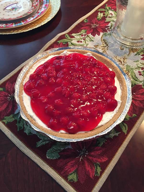Easy No Bake Cherry Cheese Cake Recipe