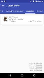 Cs-Cart Mobile Admin - náhled