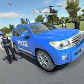 Police Land Cruiser Race